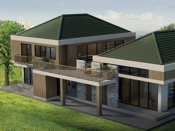 Modern Concrete Roof supplier SCG