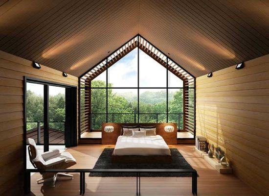Modern Natural wood ceiling board