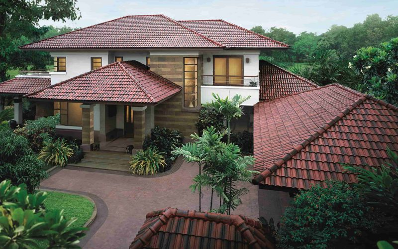 SCG CPAC Concrete Roof Manufacturer Red Flashed