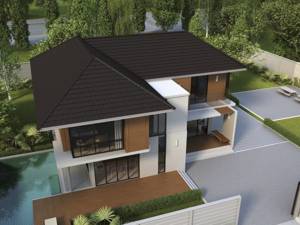 SCG Ceramic Roof Celica Curve_Wooden Brown