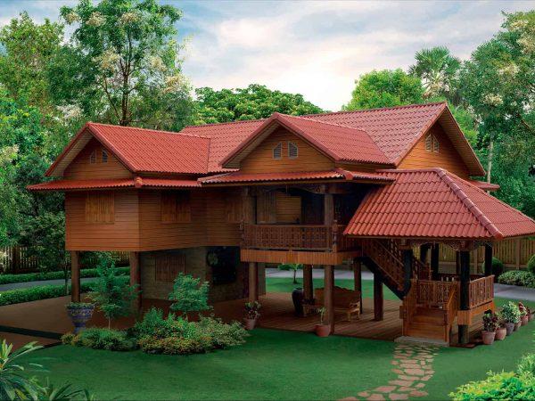SCG Fiber Cement Roof Prima Red