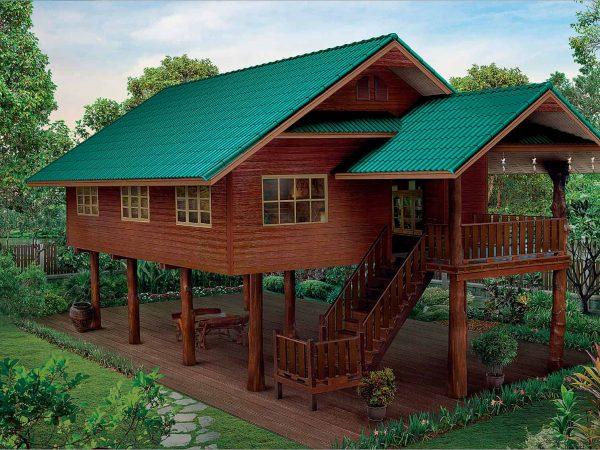 SCG Fiber Cement Roof Prima Sparkling Green (2)