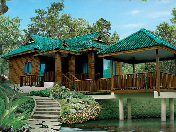 SCG Fiber Cement Roof Prima Sparkling Green