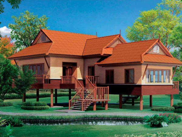 SCG Fiber Cement Roof Prima Sparkling Orange