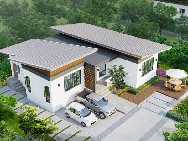SCG Fiber Cement Roof Prolon - Sila color