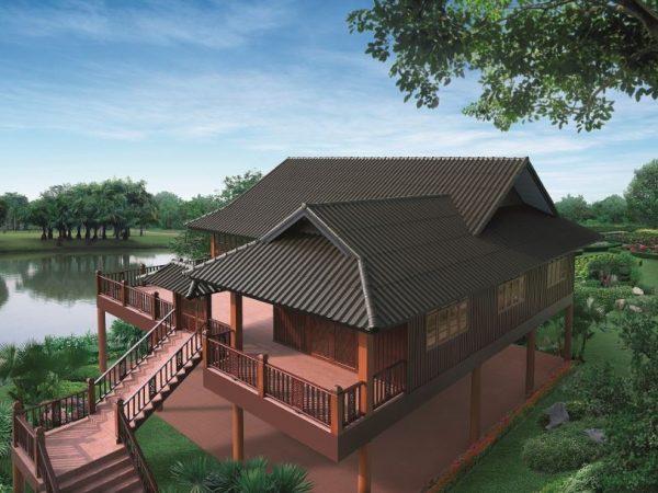 SCG Fiber Cement Roof Roman Tile dealer