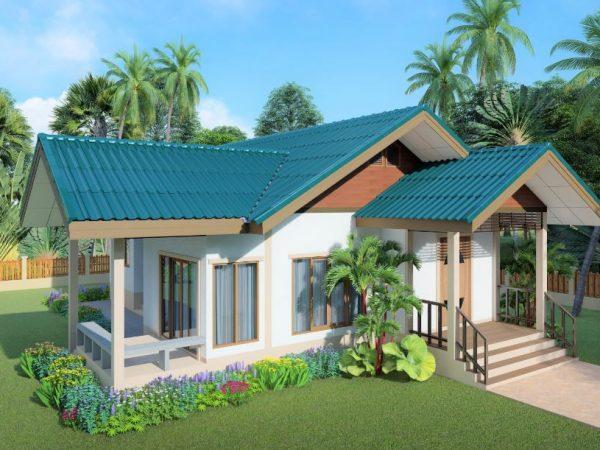 SCG Fiber Cement Roof Roman Tile for house