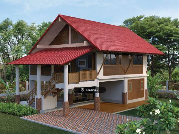 SCG Fiber Cement Roof Roman Tile materials