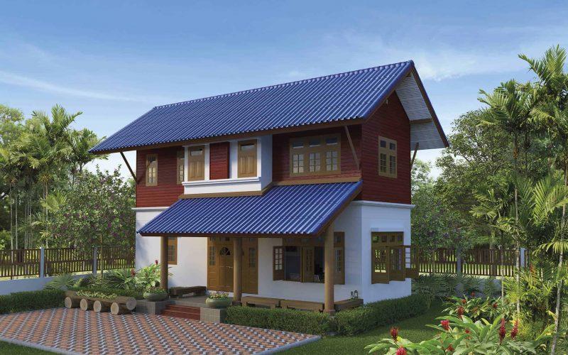 SCG Roman Tile - Fiber Cement Roof Blue resize 2