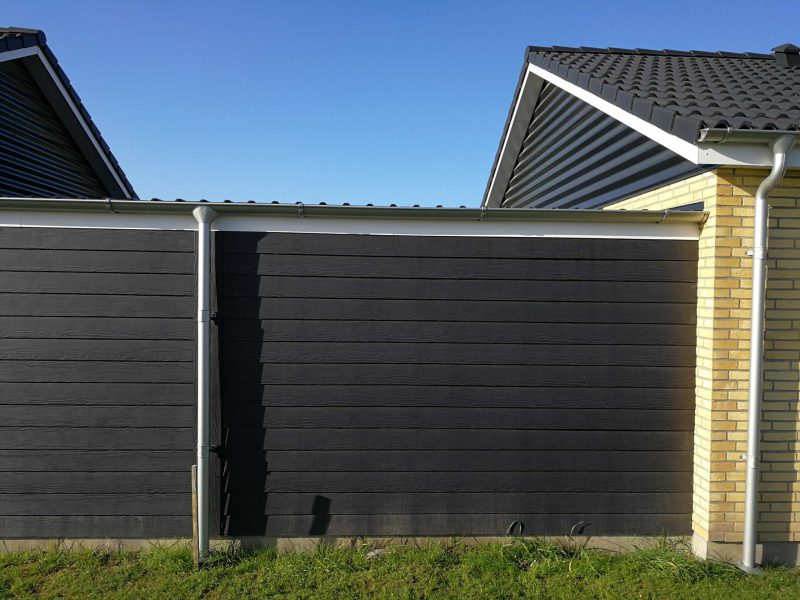 Wood plank for outdoor wall Denmark