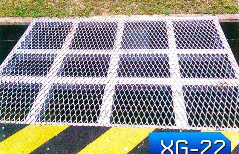 Steel walkway - expanded metal