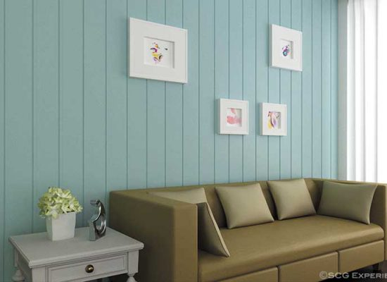 artificial wood for wall decoration