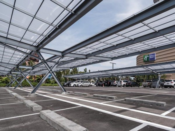 shinkolite-arcrylic roof Idea for parking-frosted-color